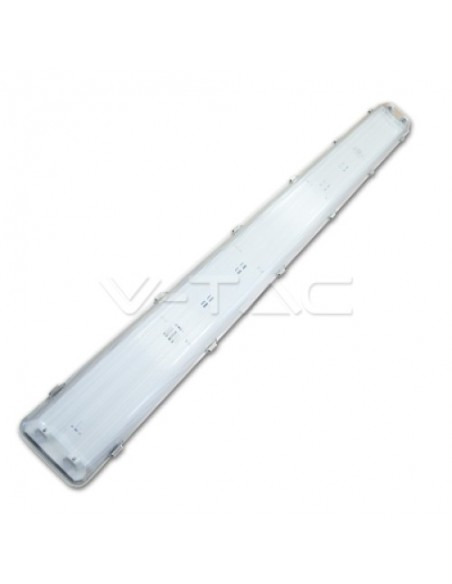 Pantalla Estanca IP65 para Tubos LED T8 2X1200mm