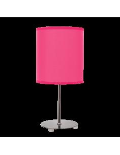 Lámpara de Sobremesa de diseño moderno e infantil de color Rosa Fucsia | LeonLeds Iluminación