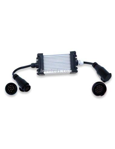 Caja de control de fallos para vehiculos de 12V elimina fallo de bombilla fundida 13PIN | LeonLeds Iluminación