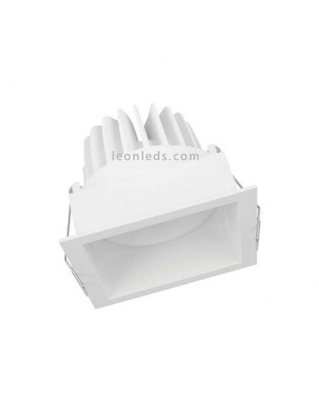 SP SQUARE DK ADJ 8W/3000K FL WT Foco empotrable cuadrado blanco LedVance   LeonLeds Iluminación LED