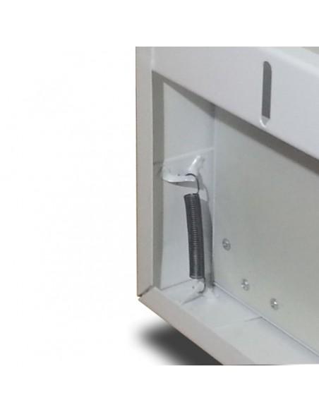 Soporte para instalar panelesde 60x60cm de led en Superficie blanco metálico | LeonLeds Iluminación