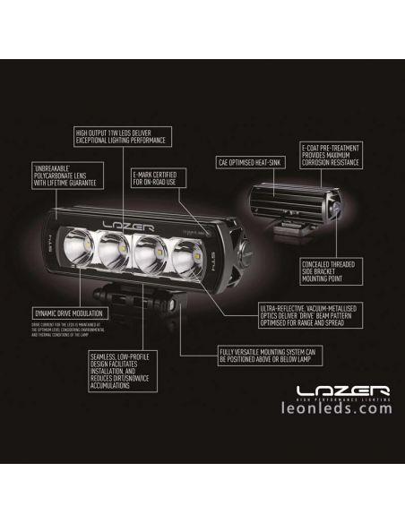 Barra LED Lazer T28 con 5 años de garantía | Barra LED 4X4 Lazer | LeonLeds Iluminación