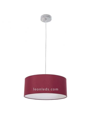 Lámpara de Techo Roja serie Adríatico de diseño moderno | LeonLeds Iluminación
