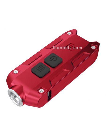 Linterna de Llavero recargable potente y duradera | Linterna de Llavero potente recargable | LeonLeds Linternas potente LED