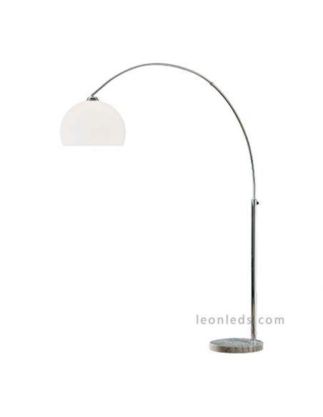 Lámpara de Pie arco de la serie Sola de la Marca Trio Lighting de diseño moderno | LeonLeds Iluminación decorativa