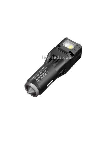 Cargador de mechero para coche Multifunción con Luz | LeonLeds Iluminación LED