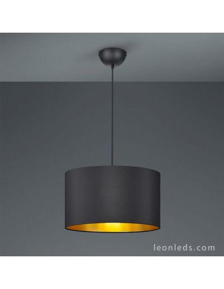 Bon Lámpara Para El Dormitorio Negra Y Dorada De Diseño Moderno Serie Hostel De  Trio Lighting |