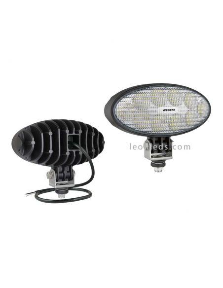 Faro LED de trabajo potente 24V y 12V valido para tractores John Deere | LeonLeds Iluminación