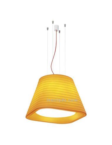 Lámpara de Techo LED moderna Naranja Brigit de Arkos Light | LeonLeds Lámparas LED