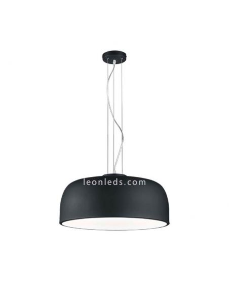 Lámpara de Techo Negra de diseño moderno serie Baron | LeonLeds Lámparas colgantes