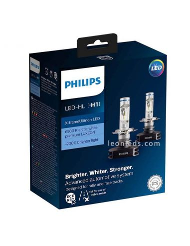 Bombillas LED Philips H1 Xtrem Ultinon | LeonLeds Bombillas LED Philips