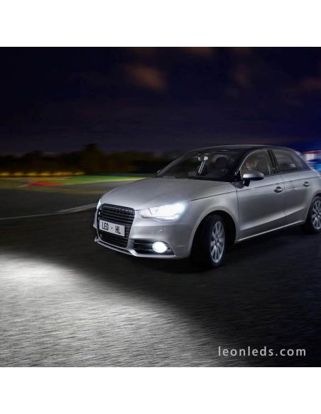 Audi a1 con Bombillas LED Philips H7 Ultinon | LeonLeds Bombillas LED Philips H7