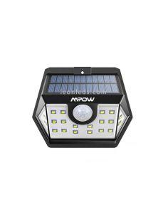 Aplique LED Solar con sensor de Movimiento y interruptor de encendida y apagado | LeonLeds Iluminación Solar