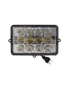 Faro LED rectangular para Jonh deere | LeonLeds Faros LED