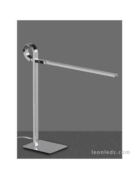 Lámpara de Sobremesa LED Cromada Cinto de Mantra 6135   LeonLeds Lámparas de Sobremesa