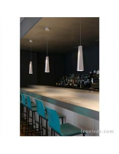 Lámpara de techo LED moderna Blanca serie Pluma de faro barcelona | LeonLeds Lámparas LED