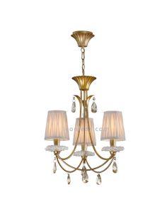 Lámpara de Techo Clásica sophie de Mantra de color Dorado | LeonLeds Lámparas Clásicas