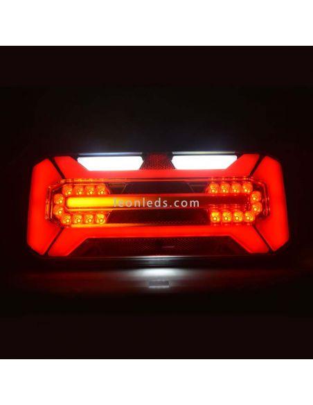 Piloto trasero LED para camión con interminte dinamico