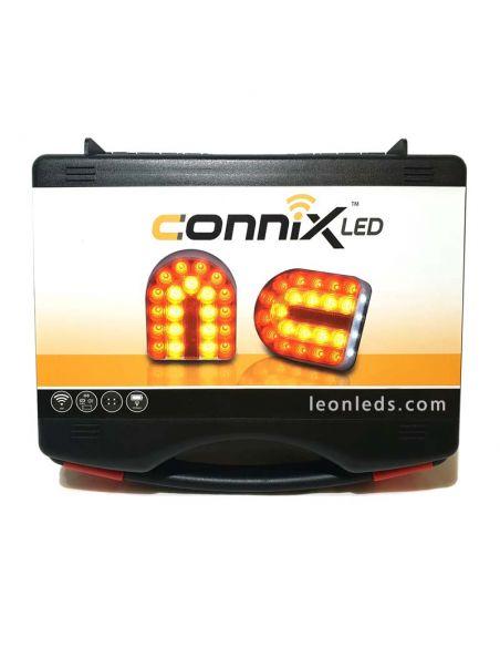 Pilotos LED inalámbricos para remolque agrícola o apero | LeonLeds Iluminación