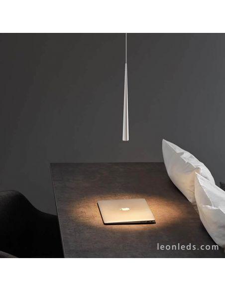 Lámpara de Techo LED Holly blanca y negra de ArkosLight