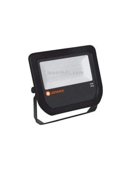 Proyector de Led Ledvance -50W- Blanco Negro Barato para Exterior IP65 | LeonLeds Iluminación