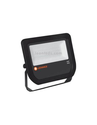 Proyector LED para exterior barato de la marca Osram LedVance Blanco Negro Cuadrado 20W | LeonLeds Iluminación