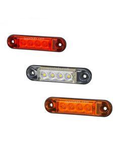 Pilotos LED Laterales pequeños en 3 colores Horpol