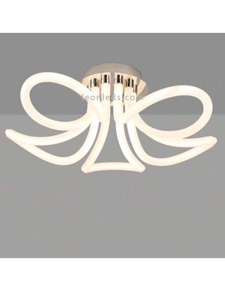 Plafón LED moderno serie Knot Line de Mantra 6615