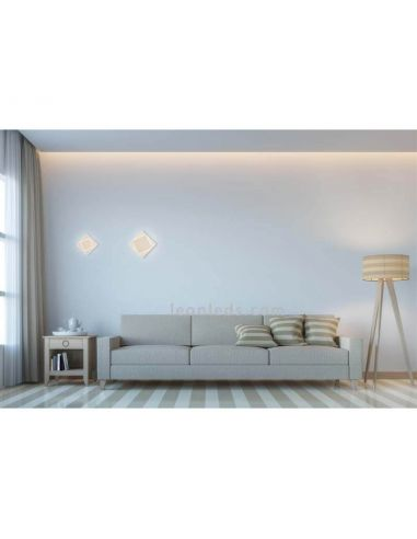 Aplique de pared interior Dakla de Mantra Blanco 6425 | Plafones LED modernos