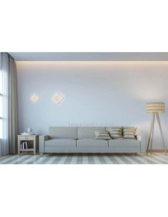 Aplique de pared interior Dakla de Mantra Blanco 6426 | Plafones LED modernos