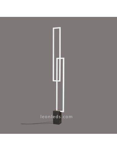 Lámpara de Pie LED regulable serie Mural de Mantra 6563 | LeonLeds Lámparas de Pie LED