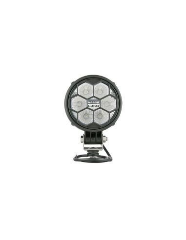 Faro de trabajo Redondo LED con Tapa protectora Calidad EMC IP68 IP69K Tractor 4x4   LeonLeds Iluminación