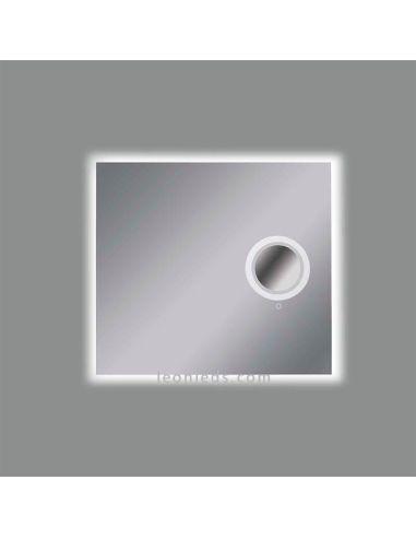 Espejo Bano Aumento Con Luz.Espejo Led Con Aumento Luminoso Olter Acb Iluminacion