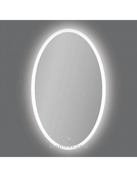 Espejo LED Ovalado potente modelo Elma de Acb Iluminación