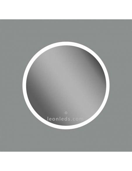 Espejo LED redondo Petra Acb Iluminación | LeonLeds Espejos LED