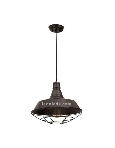 Lámpara de Techo Vintage Negra serie Finisterres de Fabrilamp | LeonLeds Lámparas Vintage