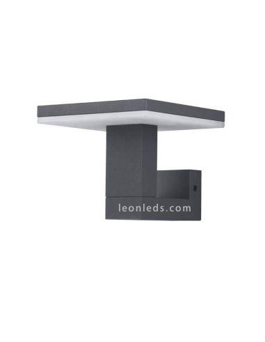 Aplique LED exterior cuadrado serie Tignes de Mantra 6497 | LeonLeds Iluminación Exterior
