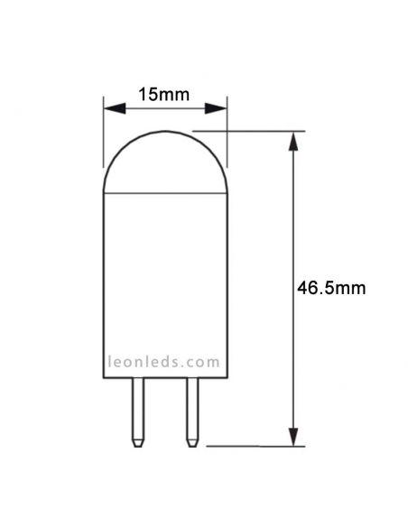 Bombilla LED G4 2.5W CorePro Philips 12V al mejor precio| LeonLeds.com