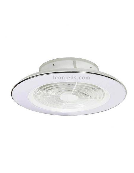 Ventilador de techo LED Blanco Alisio de Mantra | LeonLeds Ventiladores de techo LED
