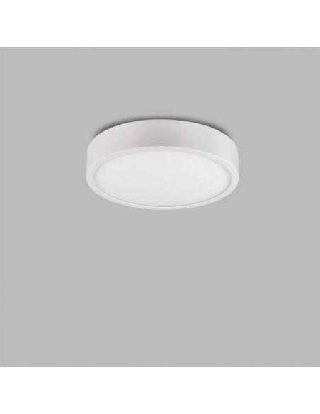 Plafon superficie LED redondo 14W serie Saona de Mantra | LeonLeds Plafones LED
