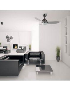 Ventilador de techo Atuaire con 3 aspas y mando a distancia de sulion   LeonLeds.com