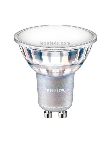Bombilla Philips Led GU10 -7W- Regulable 120º Cristal Dimmable Baratas | LeonLeds Iluminación | LeonLeds Iluminación