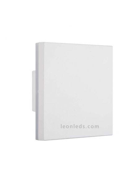 Aplique LED exterior cuadrado serie Bora de Mantra 6536 | LeonLeds Apliques LED