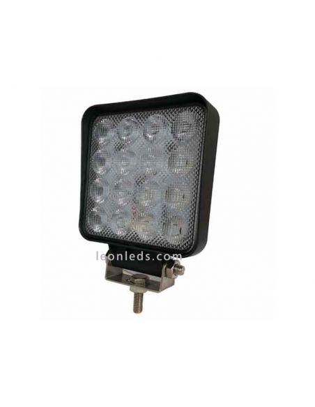 Faro de trabajo LED cuadrado barato CA5741 | LeonLeds Faros LED