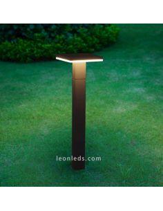 Baliza LED exterior Tignes de Mantra 6499 | LeonLeds Balizas LED