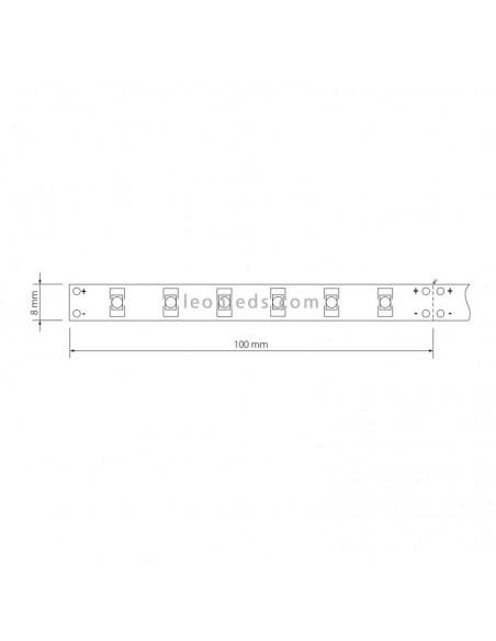 Corte de tira de LED 12V | Corte de tira de LED 12V Neonica 3528 | LeonLeds Iluminación