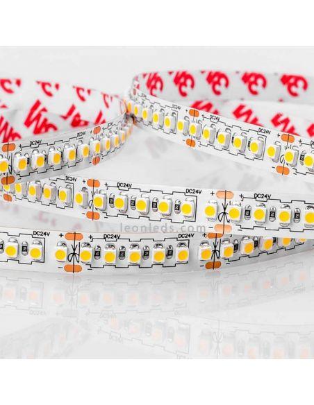 Tira LED 3528 alta potencia con adhesivo 3M | LeonLeds Tiras LED