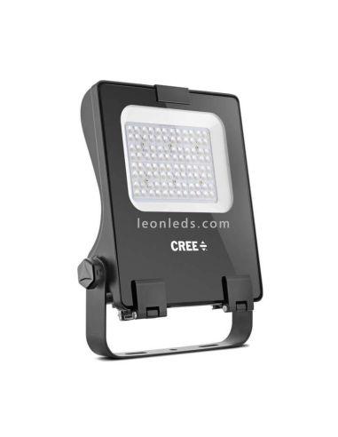 Cree CFL 150W con 4 opticas difererentes | LeonLeds Focos LED para exterior