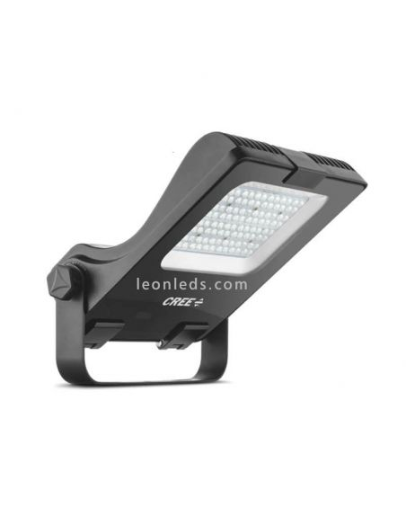 Cree CFL 150W con 4 opticas diferentes para instalar en exterior | LeonLeds Focos LED