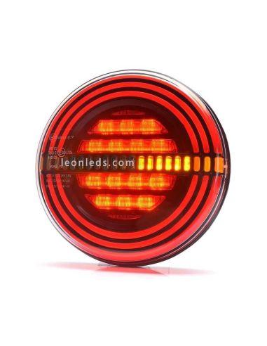 ✅ Nuevo Piloto LED trasero Was con 3 funciones valido para 12 y 24 Voltios | ✅ LeonLeds Pilotos LED